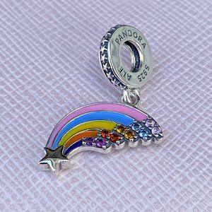 PANDORA Colourful Rainbow Dangle Charm